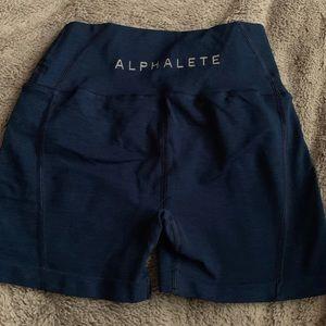 Alphalete Estate Blue Revival Shorts